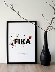 Grafika - Plagát Fika - 10761982_