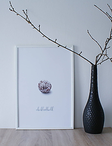 Grafika - Plagát Chokladboll - 10762453_