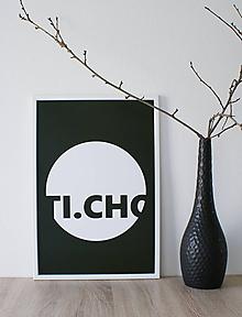 Grafika - Plagát Ticho - 10762555_