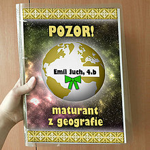 Papiernictvo - Pozor! Maturant z geografie - zakladač - 10761664_