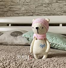 Hračky - Medvedica Vilma ♥ - 10763956_