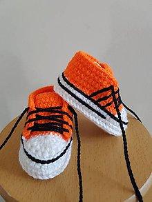 Topánočky - Oranžové tenisky - 10764465_