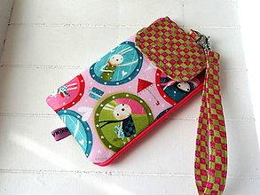 Na mobil - Kori Kumi Double (pink )... púzdro na mobil