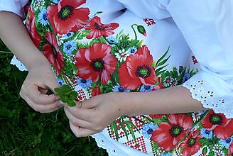 Detské oblečenie - Zásterka Maky - 10765675_