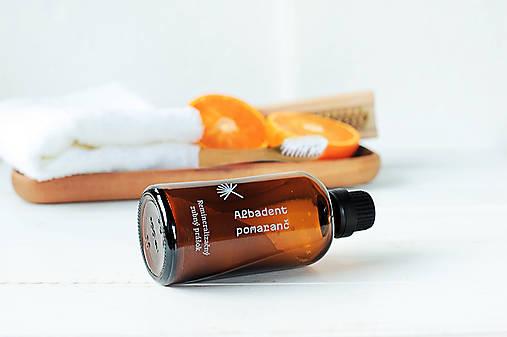 Albadent Pomaranč - remineralizačný zubný prášok (70g)