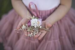 Pierka - Romantické svadobné pierko - 10762914_