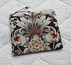 Taštičky - SAShEnka no. 195 - Ľadový kvet v čokoladě  (A) - 10764231_
