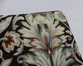 Taštičky - SAShEnka no. 197 - Ľadový kvet v čokoladě  (C) - 10764311_