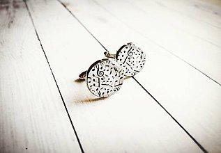 Šperky - Manžetové gombíky - 10764724_