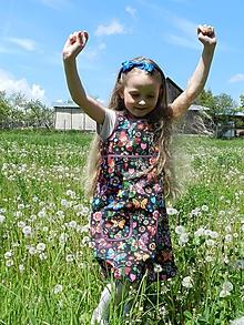 Detské oblečenie - Detské šatočky Motýle - 10764316_