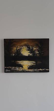 Obrazy - Pri zapade slnka (reprodukcia) - 10763345_
