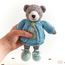 """Hračky - medvieďa """"Lea"""" - 10765235_"""