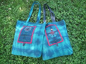 Nákupné tašky - nákupná taška batika - 10763157_