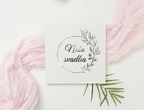 Papiernictvo - Svadobná kniha hostí half silver Flower Wreath - 10765163_