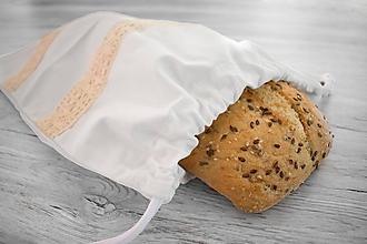 Úžitkový textil - Vrecúško na chlieb alebo iné pečivo (2) - 10765514_