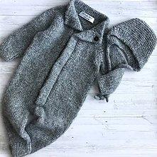Detské oblečenie - Overal + čiapka - 10764723_