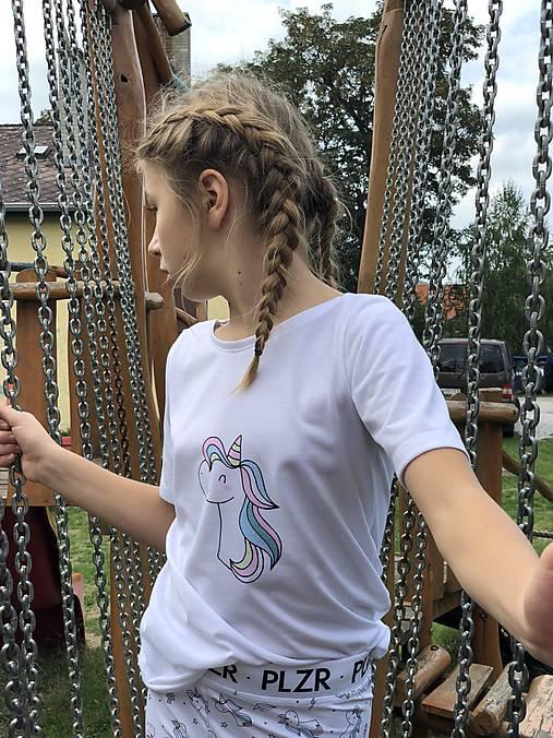 Tričko Unicorn s krátkym rukávom