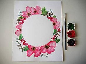 Obrazy - Poďakovanie Pink - 10764845_
