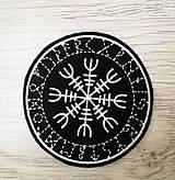 Galantéria - The Helm of Awe nášivka - 10763636_