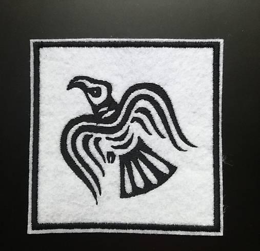 Odinov havran nášivka
