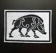 Galantéria - Kanec viking nášivka - 10764224_