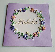 Papiernictvo - Blahoželanie pre babičku - 10763928_