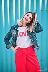Sukne - Červená sukňa dlhá - 10765342_