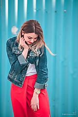 Sukne - Červená sukňa dlhá - 10765343_