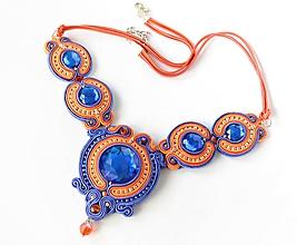 Náhrdelníky - Melora - šujtášový náhrdelník - 10764436_