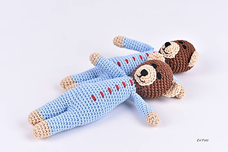 Hračky - pyžamkový spinkošík - 10767602_