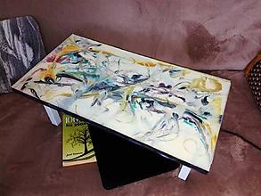 Nábytok - lel art design colorful ballet lavička - 10767083_