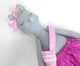 Hračky - Mačička (Miška) - 10767160_
