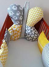 Textil - Vankúšikový mantinel - 10765886_