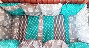 Textil - Mantinel do detskej postieľky - 10765894_