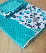 Textil - Obličky do detskej postieľky - 10765909_