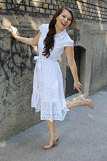 Šaty - Košeľové šaty Cafe de Flore madeira white - 10765958_