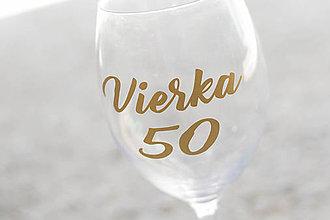 Papiernictvo - Nálepka na narodeninový pohár - 10767257_