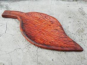 Pomôcky - Drevená miska - 10766359_