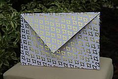 Papiernictvo - Darčekové obálky k maľovanému hodvábu 26 x 16 cm - 10766702_