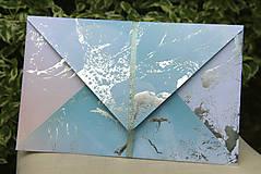Papiernictvo - Darčekové obálky k maľovanému hodvábu 26 x 16 cm - 10766738_