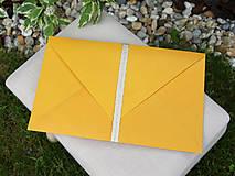 Papiernictvo - Darčekové obálky k maľovanému hodvábu 26 x 16 cm - 10766831_