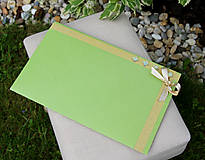 Papiernictvo - Darčekové obálky k maľovanému hodvábu 26 x 16 cm - 10766863_