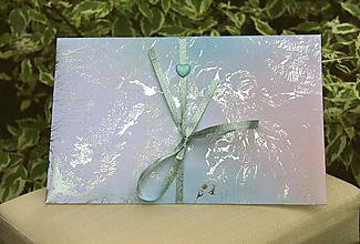 Papiernictvo - Darčekové obálky k maľovanému hodvábu 26 x 16 cm - 10767091_