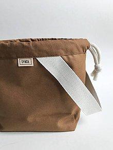 Iné tašky - Projektové vrecko Škorica - 10766060_