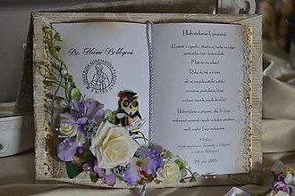 Papiernictvo - Gratulačná kniha k promócii - Elegance - 10768934_