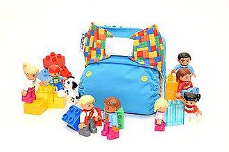 Detské doplnky - LEGO Blue - PUL Kapsová Plienočka (veľ. S-M-L) + vkladačka - 10768603_