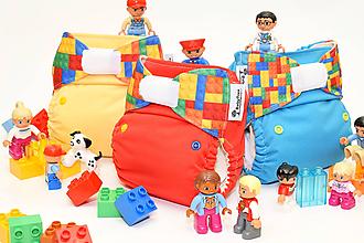 Detské doplnky - LEGO Red - PUL Kapsová Plienočka (veľ. S-M-L) + vkladačka - 10768638_