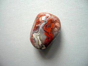 Minerály - Troml. – krajkový achát 31 mm, č.33f - 10767803_