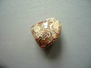 Minerály - Troml. – krajkový achát 22 mm, č.36f - 10767848_