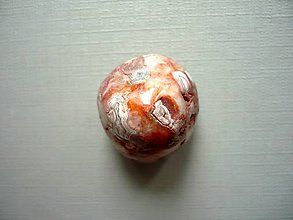 Minerály - Troml. – krajkový achát 22 mm, č.39f - 10767867_